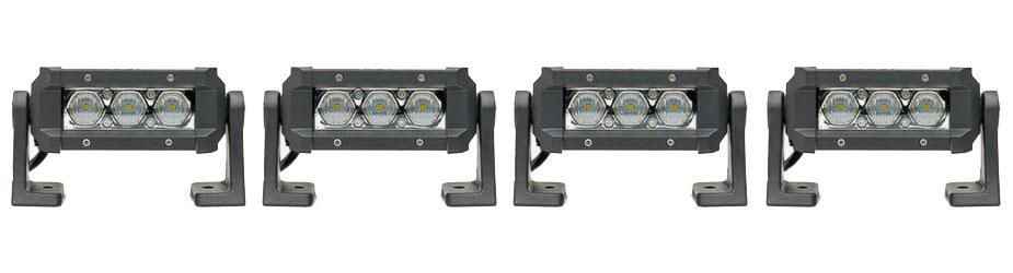 SpeedTech Lights Carbine 5 Floodlight Off Road LED Light Bar